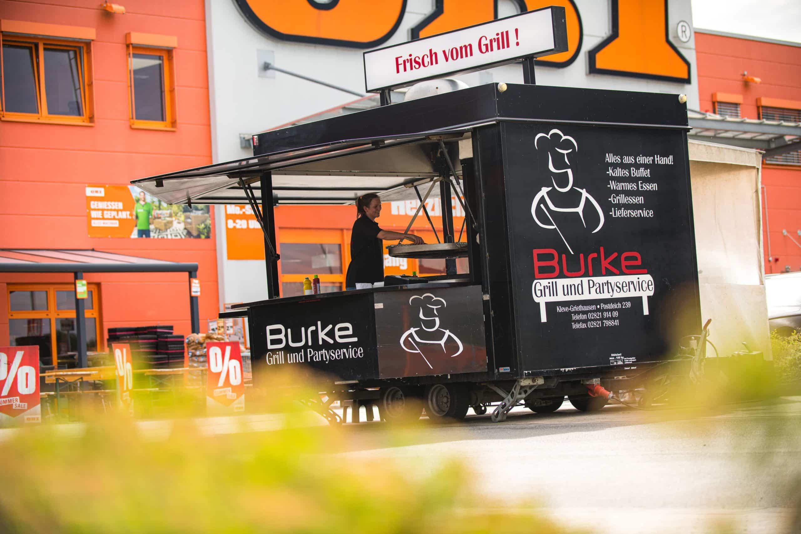 Grillwagen Grill- und Partyservice Burke